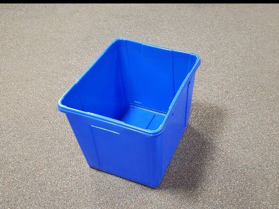 Extra blue bins may be purchased at BPU Customer Service for overflow recycling.