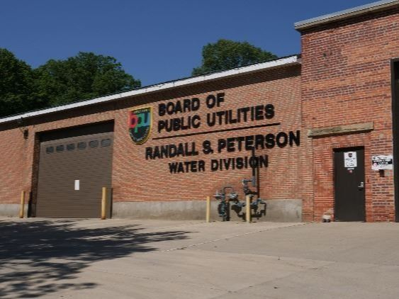 The Peterson Building houses BPU Water Division employees & equipment.