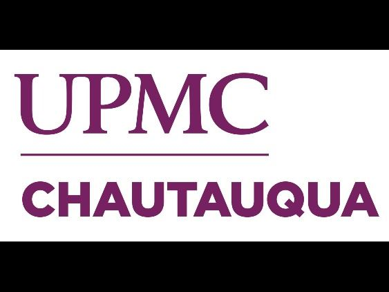 This logo signifies the UPMC Chautauqua hospital.